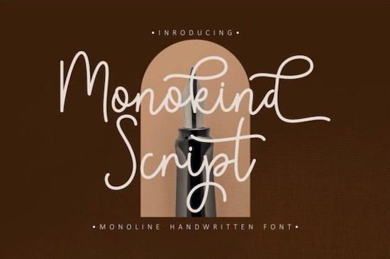 Monokind Font free download