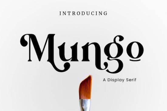 Mungo font free download