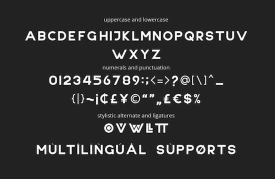 NONLOCAL font download