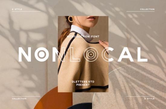 NONLOCAL font free download