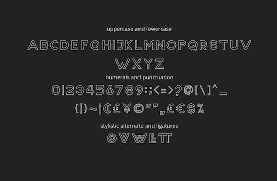 NONLOCAL font free