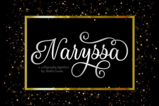 Naryssa font free download