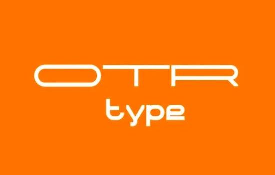 OTR Type font download