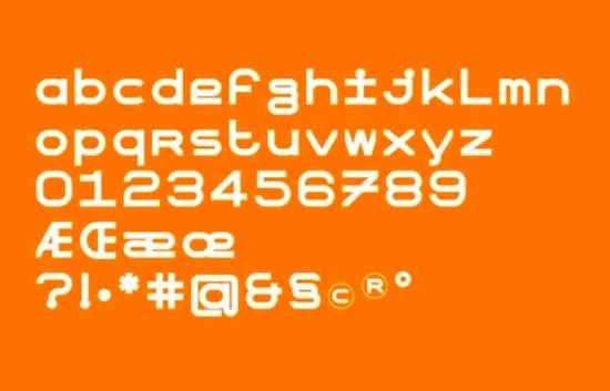 OTR Type font