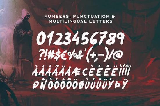 Okami Brush font