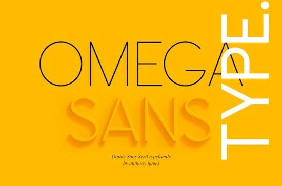 Omega Sans font download free