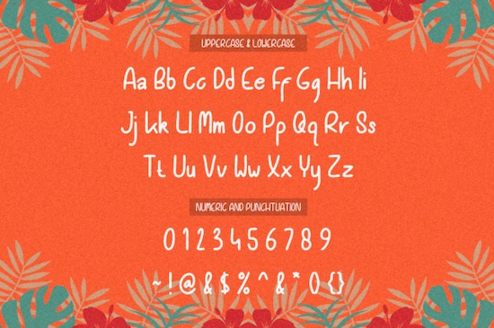 Orange Jelly font download