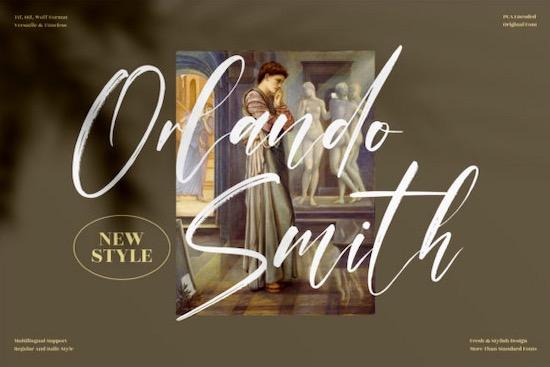Orlando Smith Font free download