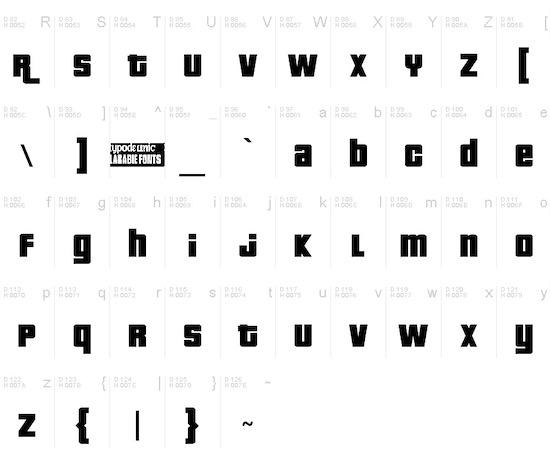 Pricedown font free