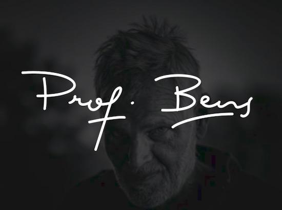 Prof. Bens font free download