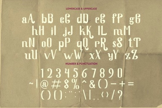 Quaker Ladies Font download