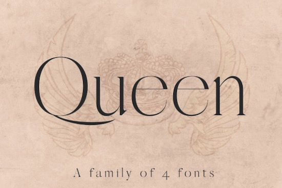 Queen font free download