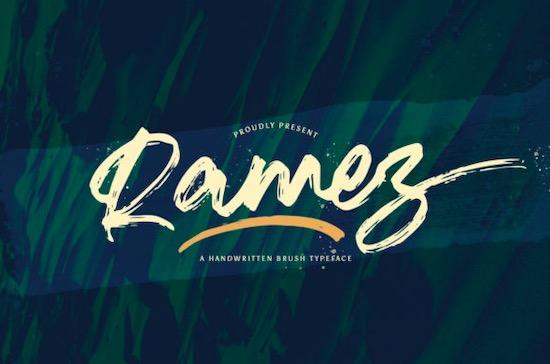 Ramez font free download
