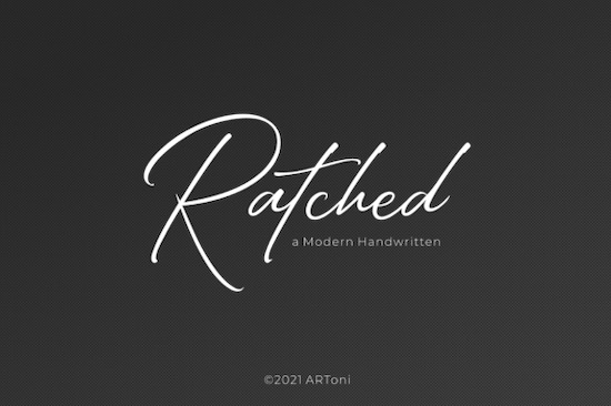 Ratched font free download