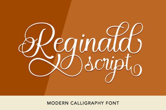 Reginald font free download