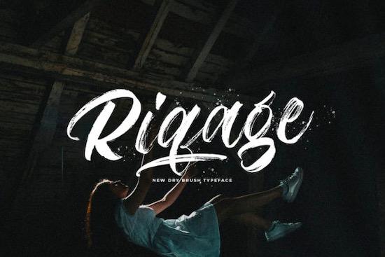 Riqage font free download