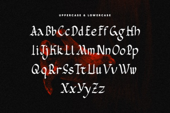 Rombenk font free