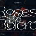 Roses Bolero font free download