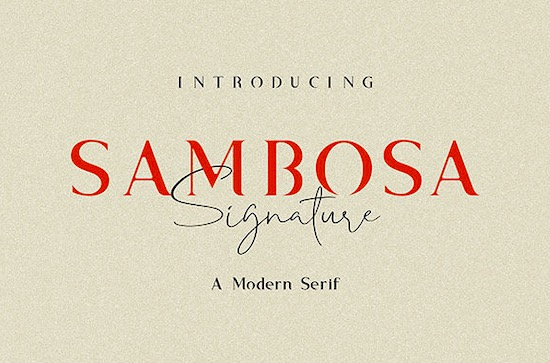 Sambosa font duo free download