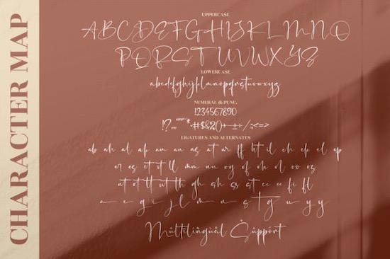 Senorita Signature Font download
