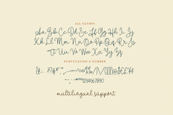 Shallylova font download