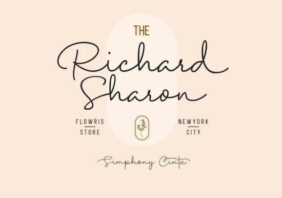 Simphony Cinta font download