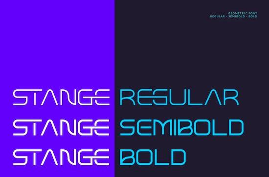 Stange font download