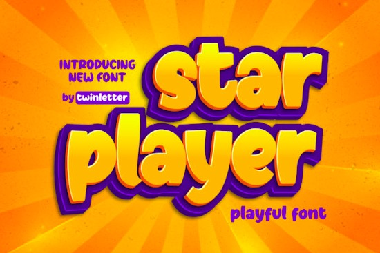 Starplayer font free download