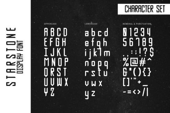 Starstone font download