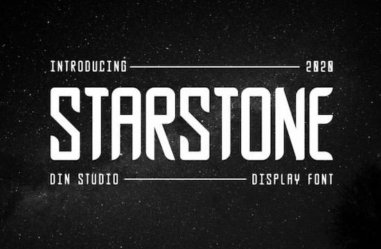 Starstone font free download