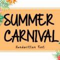 Summer Carnival font free download