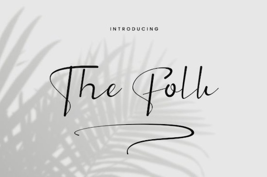 The Folk Font free download