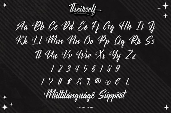 Theirself font download