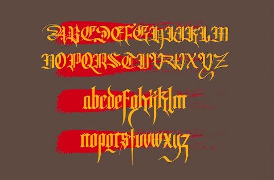 Tisk font download