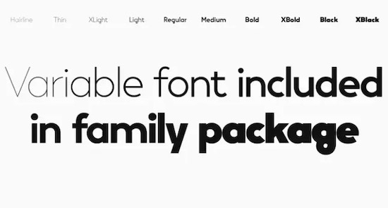 Vary font free download