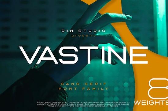 Vastine font free download