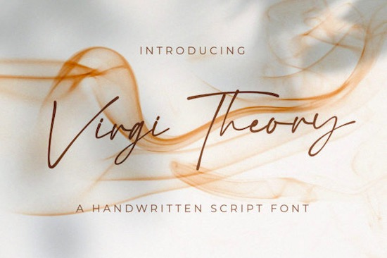 Virgi Theory font free download