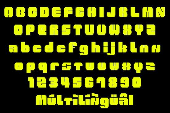 WOLF Font free