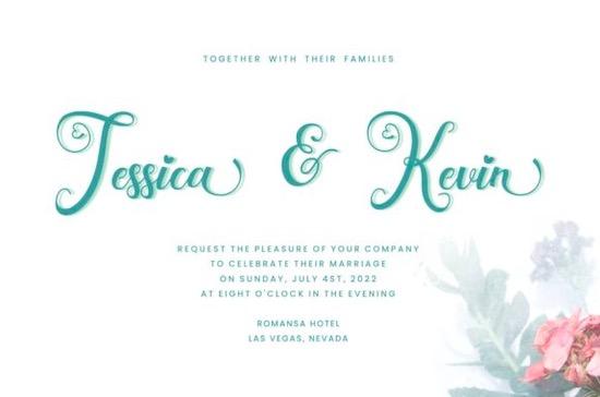 Wedding Paradise Font