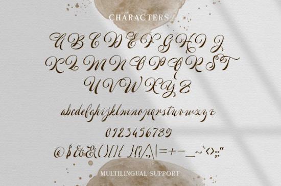 Welroseltone font download