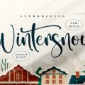 Wintersnow Font free download
