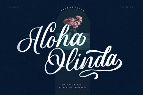 Aloha Olinda Font free download