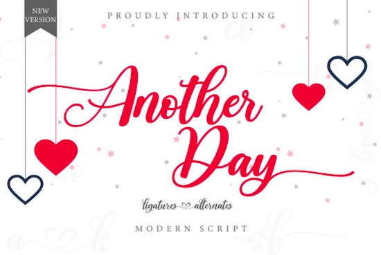 Another Day Font free download