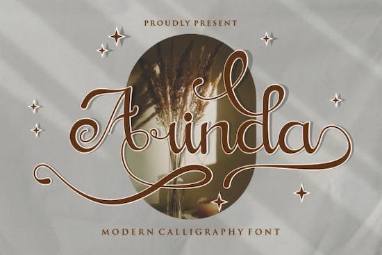 Arinda Font free download