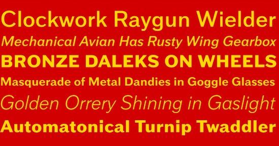 Armitage font download