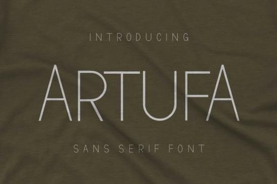 Artufa Font free download