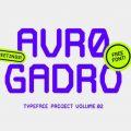 Avro Gadro Font free download