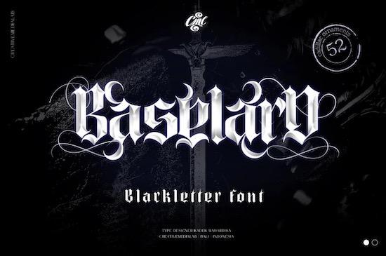 Baselard Font free download