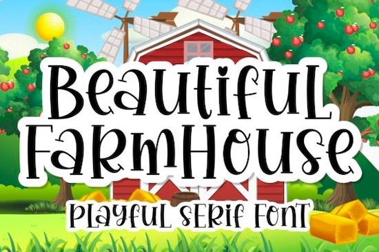 Beautiful Farmhouse Font free download