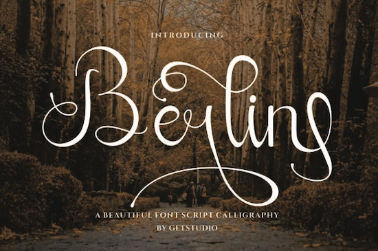 Berlin Calligraphy Font free download